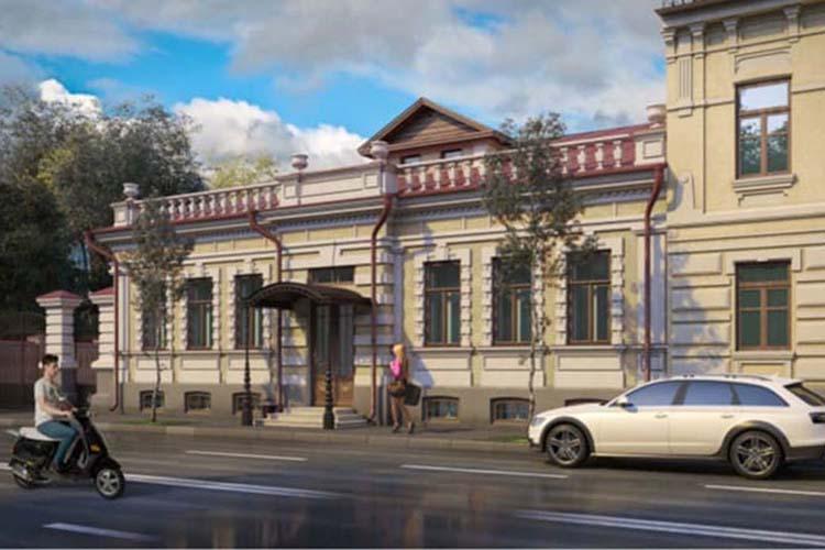 Объект культурного наследия наул.Муштари, 24получил «добро» нареконструкцию.Восстановят фасад, лепнину, архитектуру входных групп
