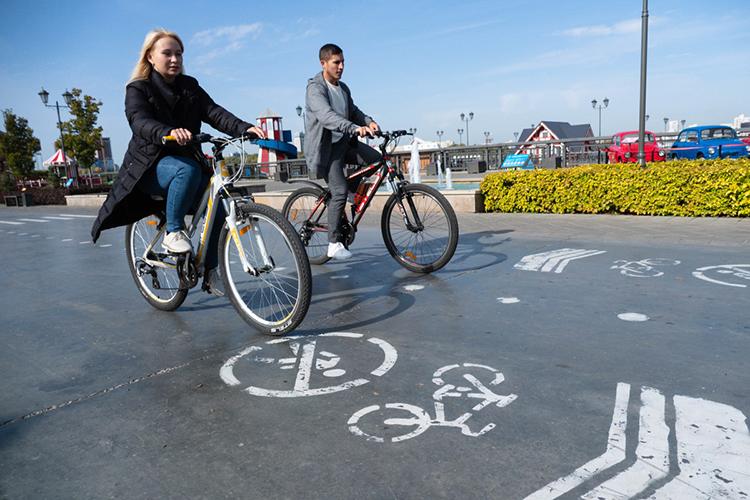 «Если наулицах города появились велосипедистки нетолько 20+, нои60+ лет, значит, они чувствуют себя вбезопасности. Мужчины больше склонны криску, они непоказатель, аесли женщин нет навелодорожках, значит, уровень безопасности нетот»