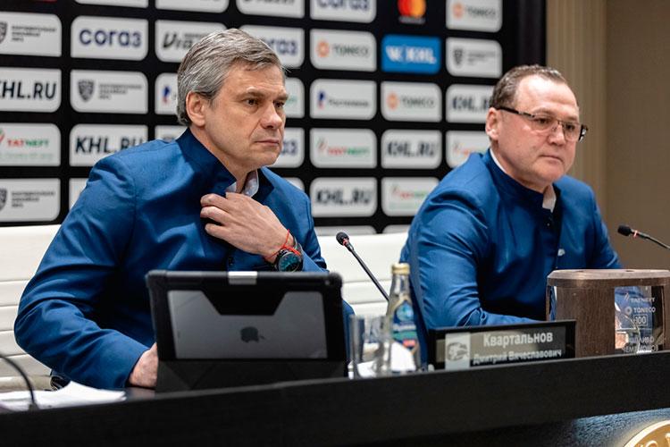 Знаковой для Татарстана персоной становится Дмитрий Квартальнов (слева)