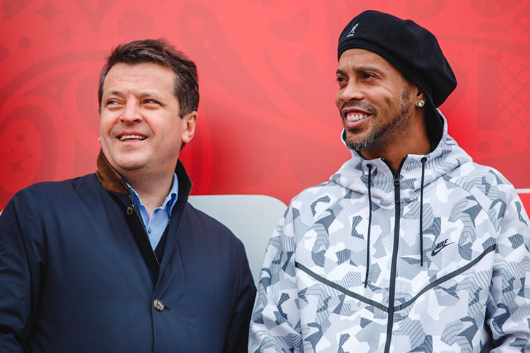 Главная спортивная победа мэра Казани — Суперкубок УЕФА. Летом 2023 года столица РТ станет столицей уже футбольной, принимая матч между победителем Лиги чемпионов и Лиги Европы