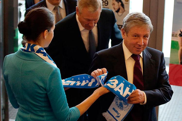 Рафкат Кантюков почти не пропускает матчей «Зенита», а тренеры и игроки приглашаются в команду только после согласования с президентом клуба