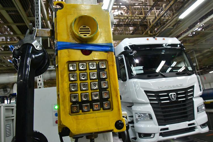 Мишустину показали тот самый «КАМАЗ-54901», только нагазодизельном оборудовании. Онпроизведен пока вединственном экземпляре ипроходит испытания