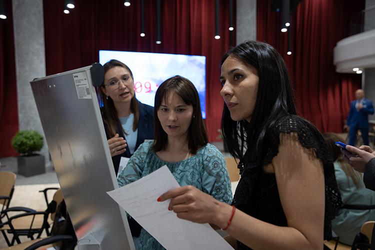 Каждая группа выделила основные проблемы сферы для презентации— иискала пути ихрешения