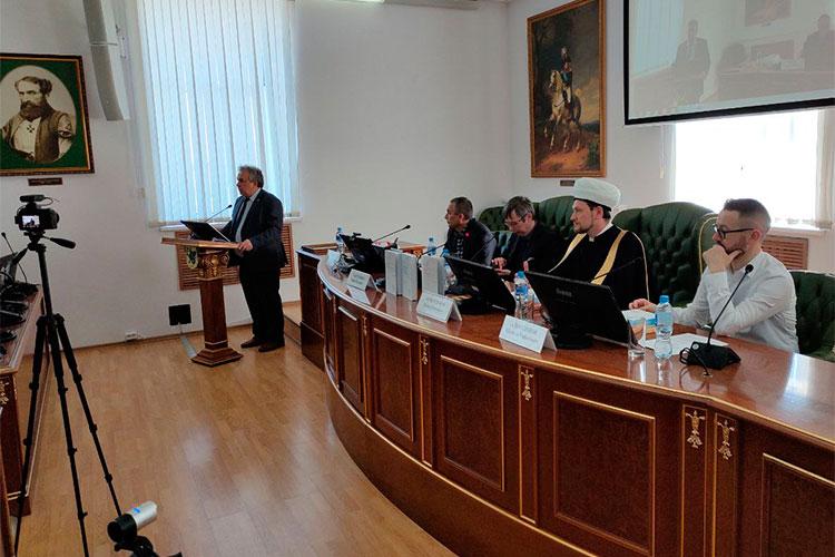 В целом, состав участников мероприятия был весьма солиден (На фото директор Института международных отношений КФУ Рамиль Хайрутдинов)