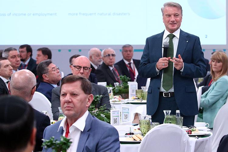 Герман Грефутромсобралнасвой бизнес-завтрак политический иэкономический бомонд страны содной лишь целью— поговорить отом, каким сейчас должно быть новое российское правительство, особенно после пандемии