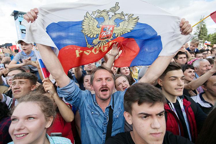 Программу Дня России обещают насыщенную, носконцентрированную восновном наКремлевской набережной