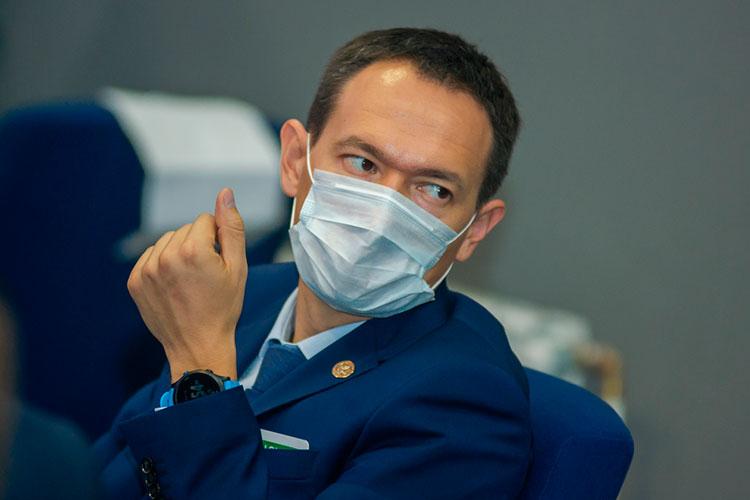 Тимур Нагуманов:«Тема коронавируса ивакцинации для нас очень важна, можно сказать, основнаятема»