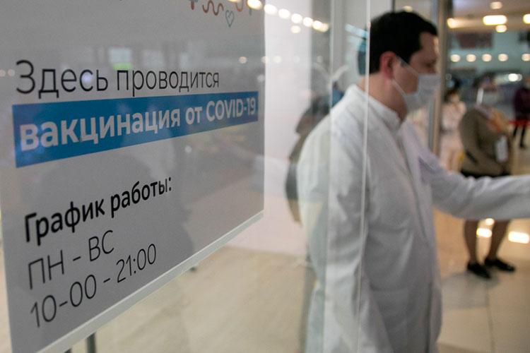 ВТатарстане охват необходимой части населения вакцинацией откоронавируса насегодня составляет23%