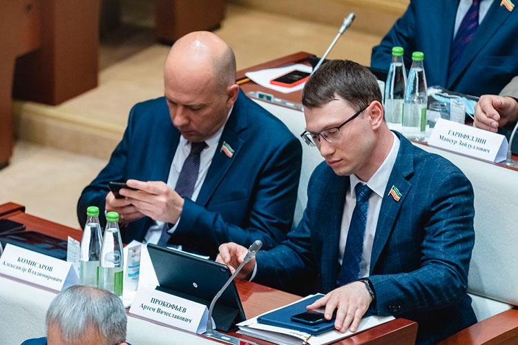 Артем Прокофьев (справа): «Если следовать тому, что предлагается, товсе крупнейшие новостные ресурсы надо блокировать вдосудебном порядке»