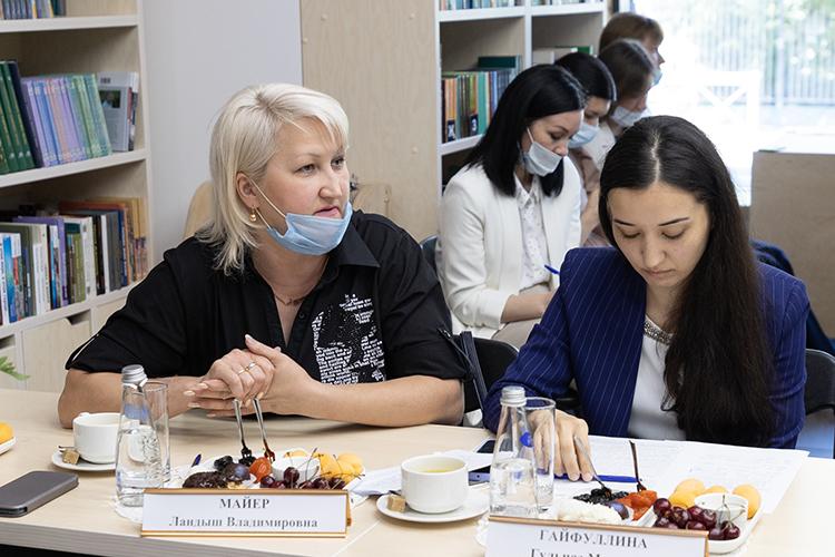 Ландыш Майер предложила создать вКазани центры дневного пребывания для детей-инвалидов. Это даст возможность учиться иработать мамам, заниматься спортом ит.д