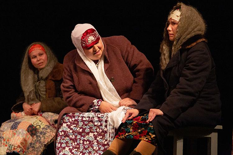 Спектакль «Жребий» Буинского государственного драматического театра