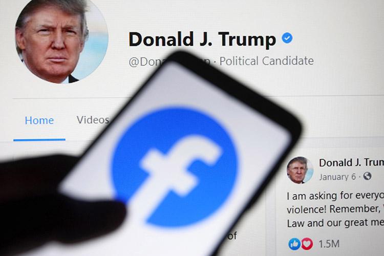 «Спросите меня, является ли блокировка аккаунтов Дональда Трампа ограничением свободы слова. Я скажу, что да, безусловно. Вправе ли были частные корпорации в виде «Твиттера» и некоторых других это сделать? Наверное, да»