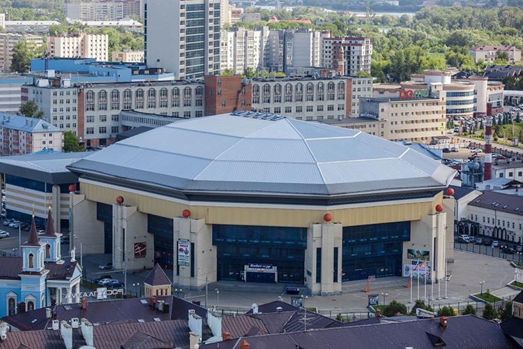 Делегация осмотрела два объекта -«Баскет-холл»и Дворец единоборств«Ак Барс»