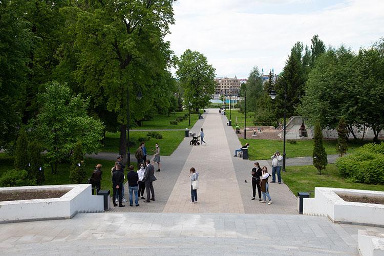 Город продолжает благоустройство общественных пространств, всписке на2021 год шесть объектов стоимостью 672млн рублей