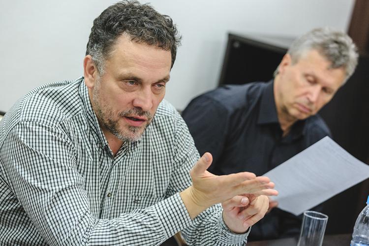 Максим Шевченко— лидерРоссийской партии свободы исправедливости