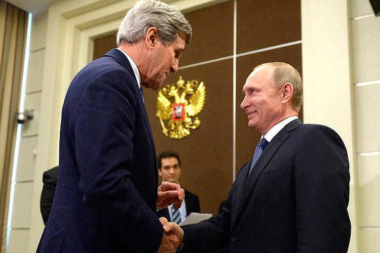«Поскольку Крым оказался, действительно, очень сложным моментом, товсе слова ипредложения Керри были воспринято вСочи набанзай»