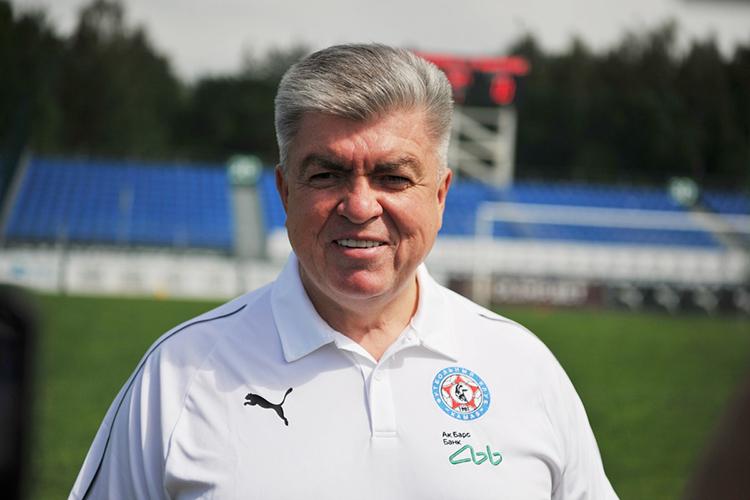 Наиль Магдеев:«Основной спонсор— руководство Татарстана: президент ежегодно выделяет серьезные финансовые ресурсы наобеспечение команды, есть ряд других небольших спонсоров»