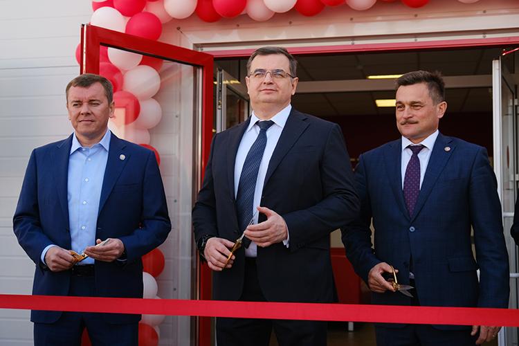 Валерий Мальцев:«Соткрытием нового центра, мыудвоили количество сервисных экипажей иинженеров, появился новый склад запасных частей»