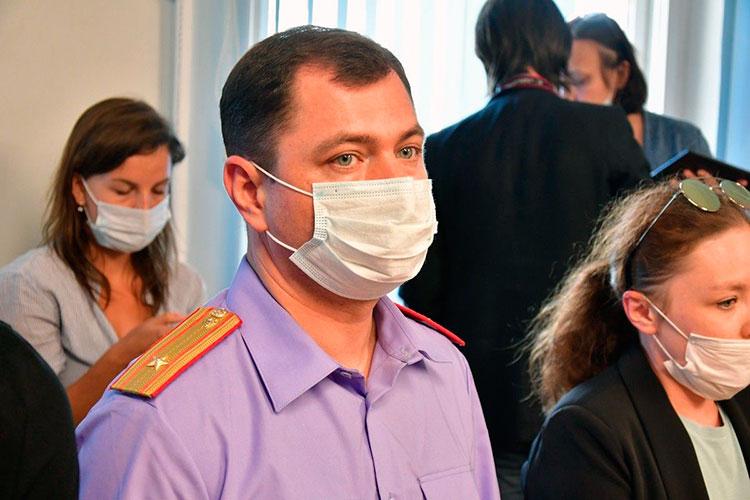 Сергей Харькин попросил суд отправить Зиннурова в СИЗО до 15 августа