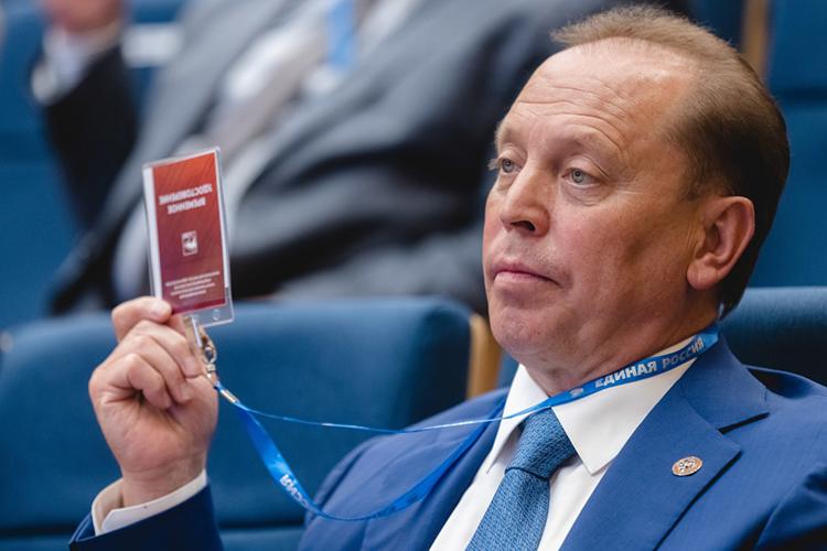 Третьим номером вфедеральный парламент отТатарстана идет мэр НижнекамскаАйдар Метшин