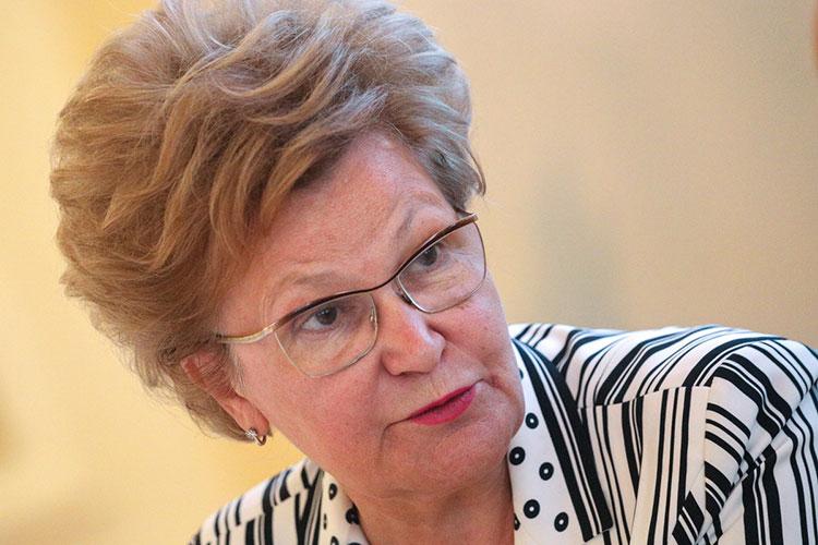 Татьяна Ларионова передала участникам конференции приветствие от имени госсоветника РТ Минтимера Шаймиева