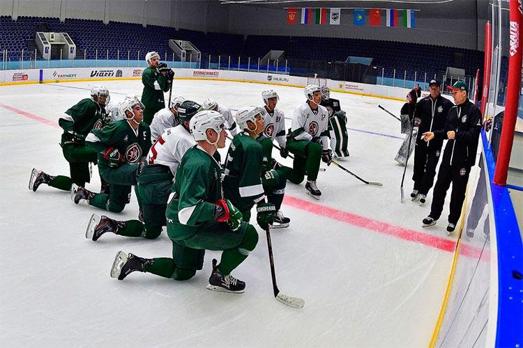 Единственным хоккейным клубом Татарстана, который решился назаграничные сборы вовремя пандемии, оказался «Барс»