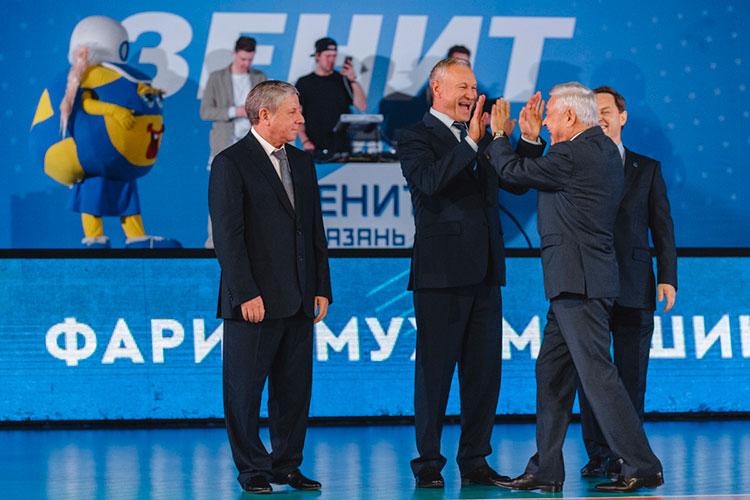 Последние десять лет волейбольную федерацию возглавляет Фарид Мухаметшин