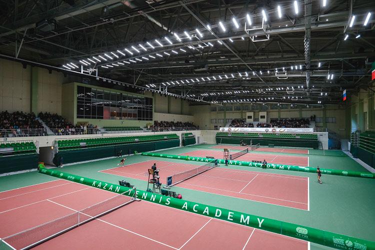 Импульс теннису вТатарстане далаУниверсиада-2013, под которую открыли Академию тенниса с35-ю кортами. Она чутьли некаждый месяц принимает статусные соревнования