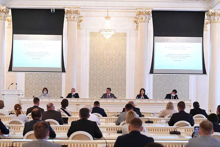 Сегодня депутаты казгордумы два часа вникали иобсуждали проблемы сферы культуры города