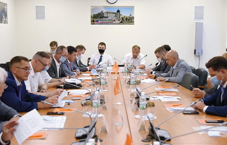 Ряд законодательных инициатив обсудили накануне в«Татэнерго» депутаты комитета Госсовета РТпожилищной политике иинфраструктурному развитию