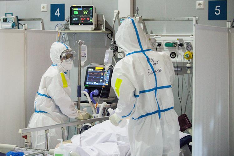 Новые штаммы коронавируса увеличили продолжительность течения болезни, следовательно, больничные койки будут освобождаться медленнее, чем раньше