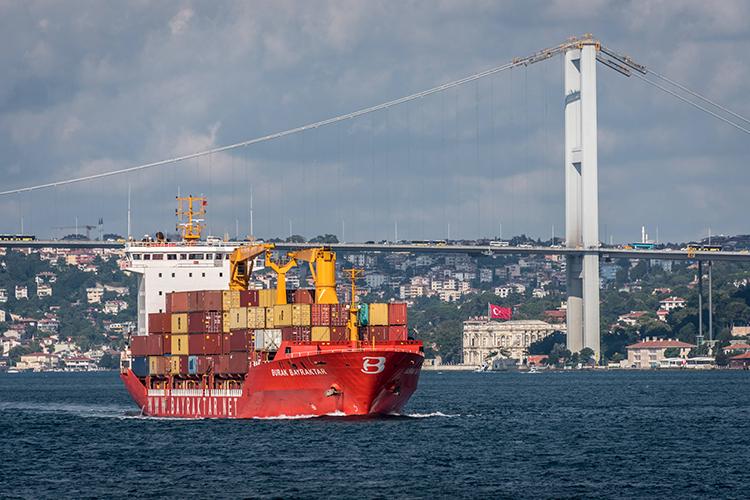 «Сегодня 45 тысяч кораблей вгод проходит через Босфор. Проход каждого большого корабля несет риск для города, они везут разные грузы, ивслучае аварии город попадает под большую угрозу, связанную спожарами иразрушениями, втом числе культурных ценностей»