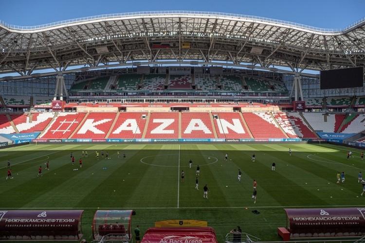 «ВТатарстане активно развивается футбол. Угорода есть современная арена, готовая кпроведению матчей самого высокого уровня»