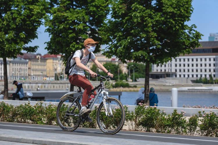 «Впланах унас дальнейшее развитие, подготовлена концепция с75 километрами велодорожек ивелополос»