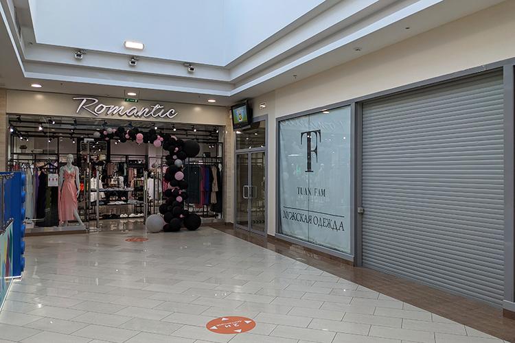 Изближайших открытий в«Южном»— магазин женской одежды LaVittoria, мужской бренд Tuan Fam, обувной Francesco Donni иювелирный Sokolov