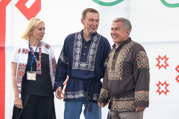 Дмитрий Самаренкин:«Татарский праздник сабантуй, его чувашский аналог акатуй, нуиуяв, все они— праздники плуга, которыепроводят после посевной»