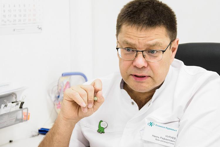 Наиль Нуриев: «До22 недель беременности вакцинация нерекомендуется, после 22недель рекомендуется— если есть отягчающие факторы»