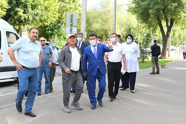 Детали грядущего переезда президенту РТ вчера докладывал министр здравоохранения РТ Марат Садыков