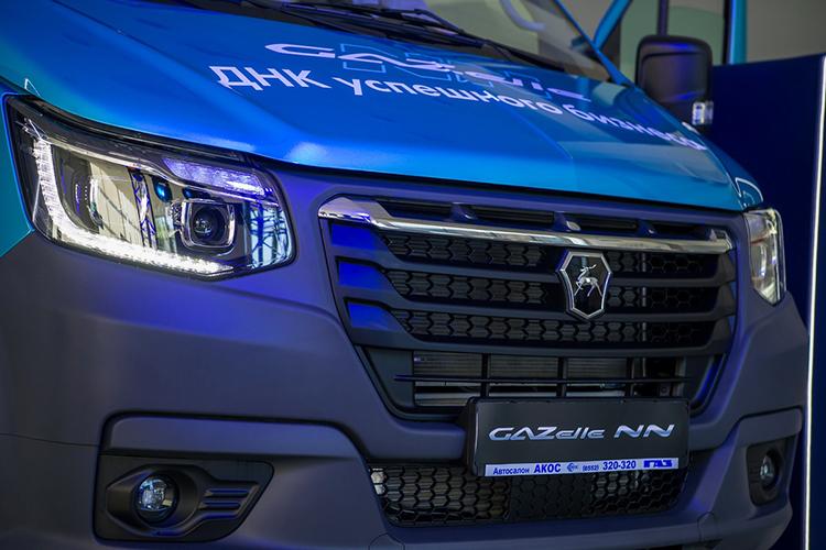 «ГАЗель NN» оснащена тремя типами двигателей взависимости отпотребностей покупателей