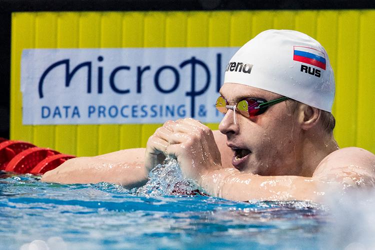 Красных претендует на медаль в эстафете 4х200