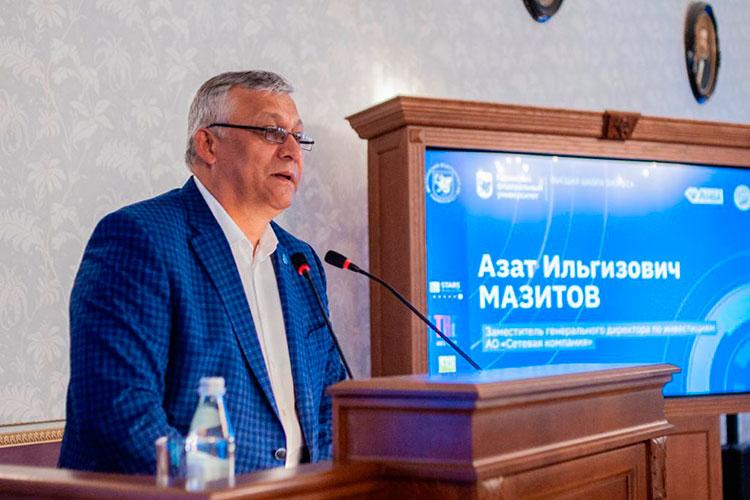 Азат Мазитов: «Здорово, что внашей компании многие ведут свое бизнес-содружество слюбимой бизнес-школы КФУ»