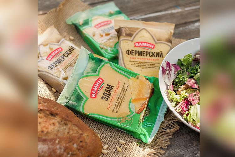 Вближайшее время наполках появится сыр «Фермерский». Абсолютная новинка. Вкус будет насыщенно сливочный