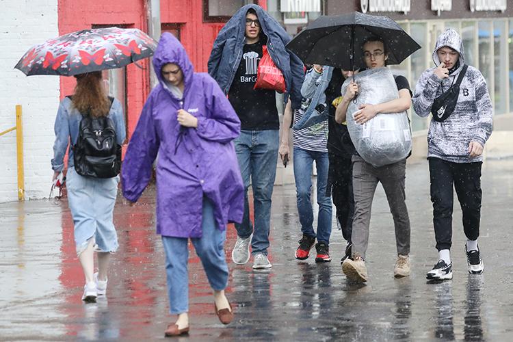 Для Казани предстоящие выходные, 24и25июля, станут самыми холодными днями июля