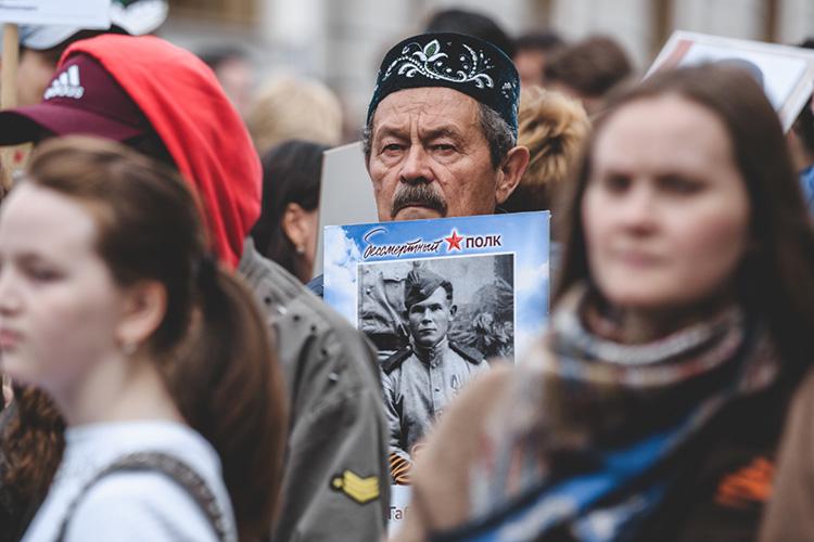 «Для нас очень важна итема Великой Отечественной войны, вклад всех народов Татарстана вобщую победу. Институт внес весомый вклад вприсвоение Казани почетного звания «Город трудовой доблести»