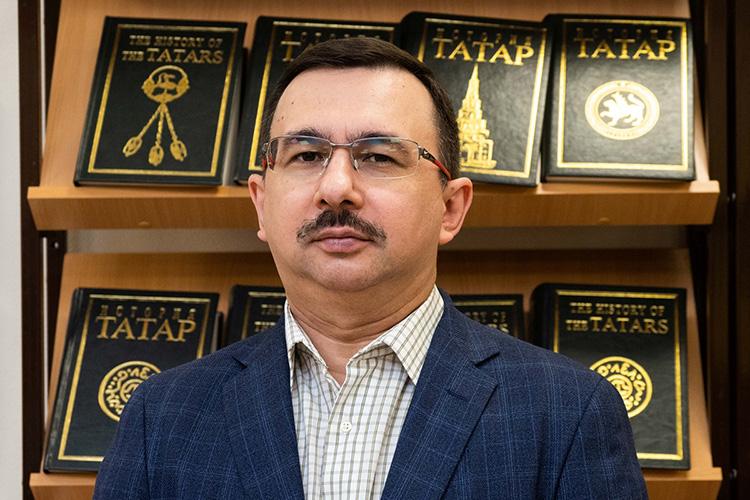 «Мыдолжны отстаивать туточку зрения, окоторой мывсегда говорили, ияглубоко убежден, что эта точка зрения правильная, научно обоснованная, что татары ибашкиры— это два братских народа»