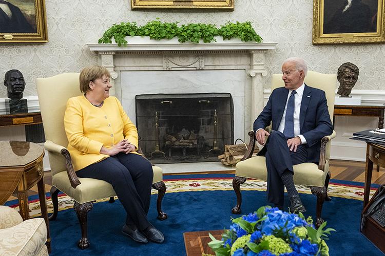 США иГермания заключили соглашение, дающее «зеленый свет» достройке «Северного потока— 2»