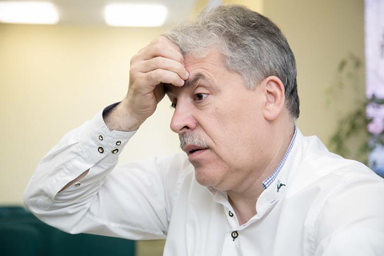 Донос бывшей жены Грудинина совпал сослухами окрайнем недовольстве кремлевской администрации фактом включения Грудинина втоп-3 списка компартии