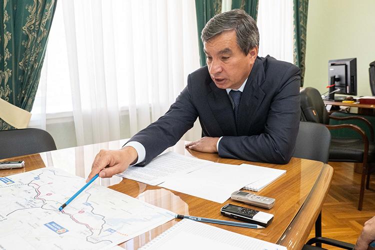 Начальник управленияИлдар Мингазовбыл осторожен вформулировках, поскольку проекты каких-то участков уже проходят экспертизу, адругие только готовятся кэтому