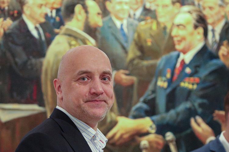 ВТелеграме активно муссировались слухи ополитическом будущем писателяЗахара Прилепина