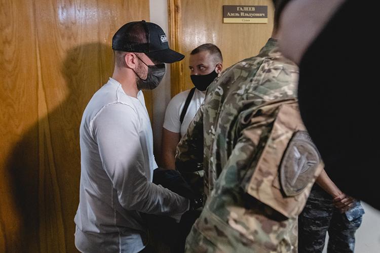 Судья постановил отправить Доронина вСИЗО-2 до28сентября